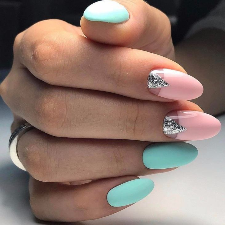 Гель-лак дизайн 2017 на длинные ногти