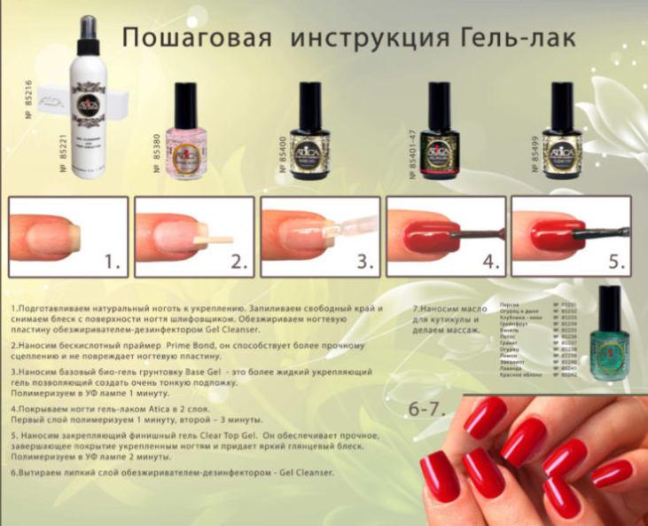 Как покрывать ногти гель-лаком дома