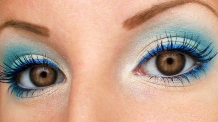 Макияж глаз в для кареглазых
