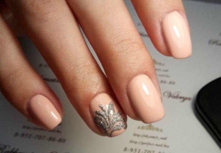 Рисунок на квадратные ногти