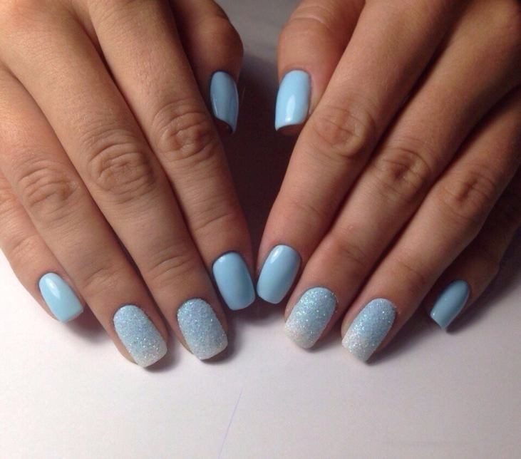 Маникюр на квадратные ногти - фото идей дизайна ногтей - Best