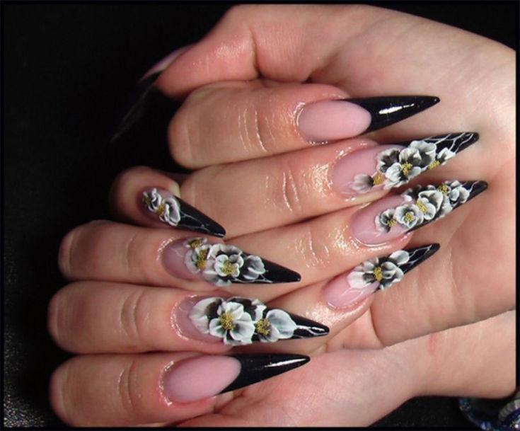 Ногти разных форм 28