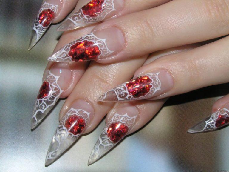 Ногти дизайн аквариумный дизайн