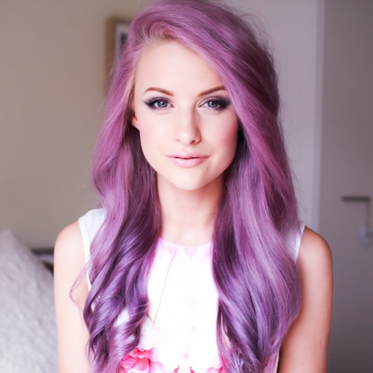 Dying My Hair Purple  Andrea Russett