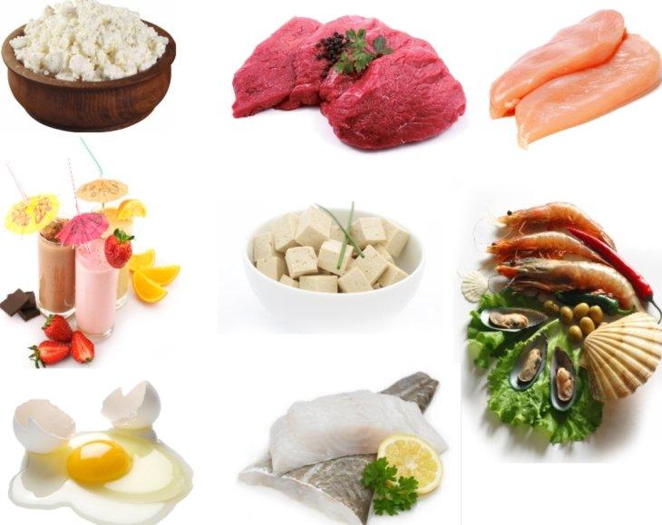 Какие продукты едят при белковой диете