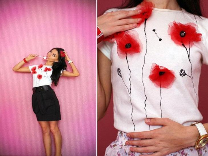 Как украсить одежду рисунками