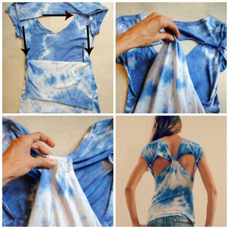 Как сделать красивую футболку