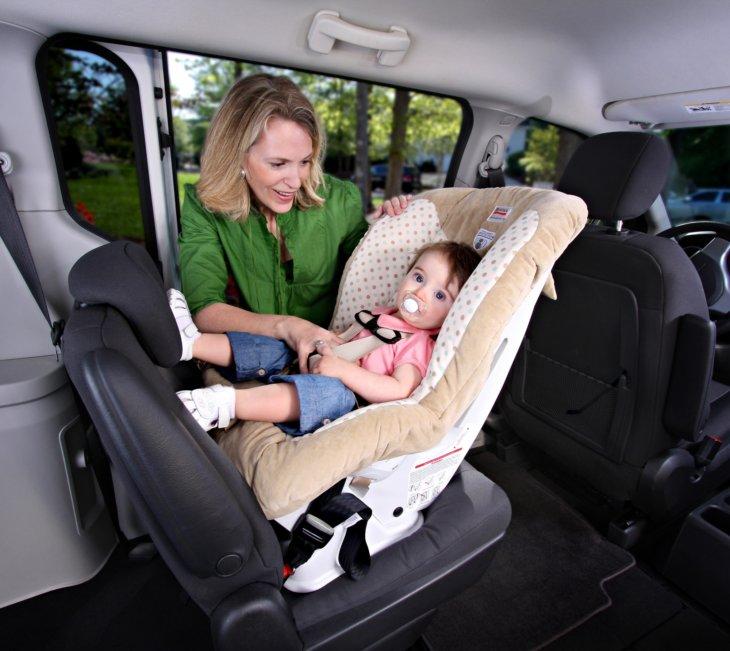 Как сажать ребенка в автокресло вперед 571
