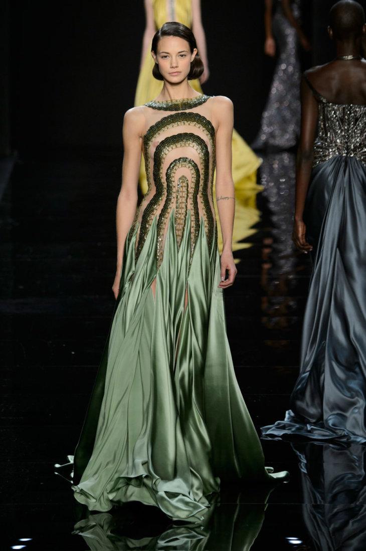 Мода вечерних платьев фото