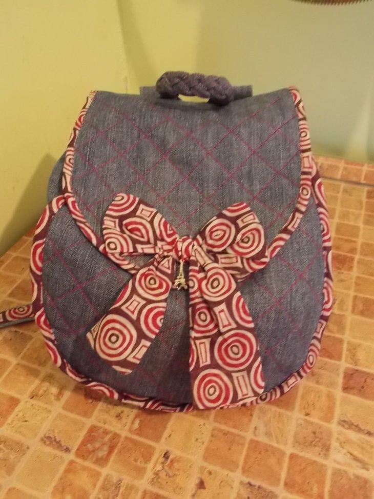 Рюкзачок для девочки сшить