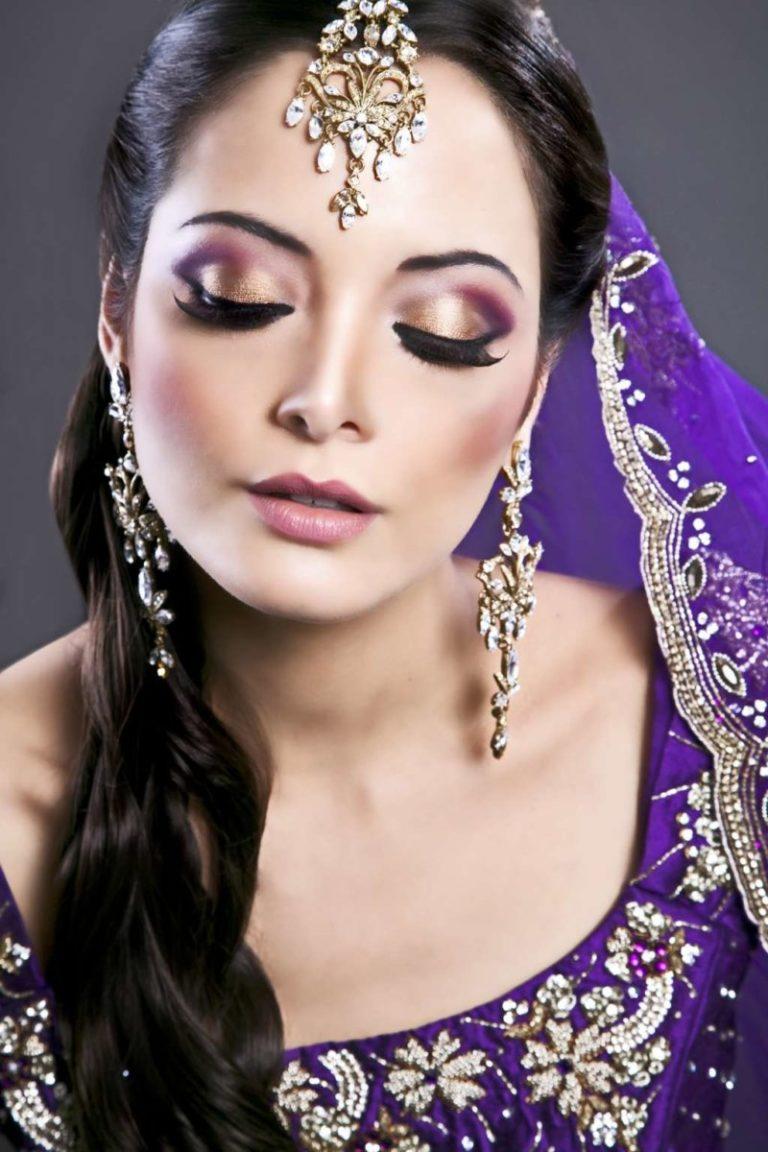 Индийский макияж для глаз