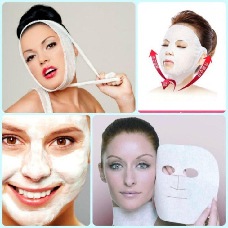 Маски для лица в домашних условиях подтягивающая маска