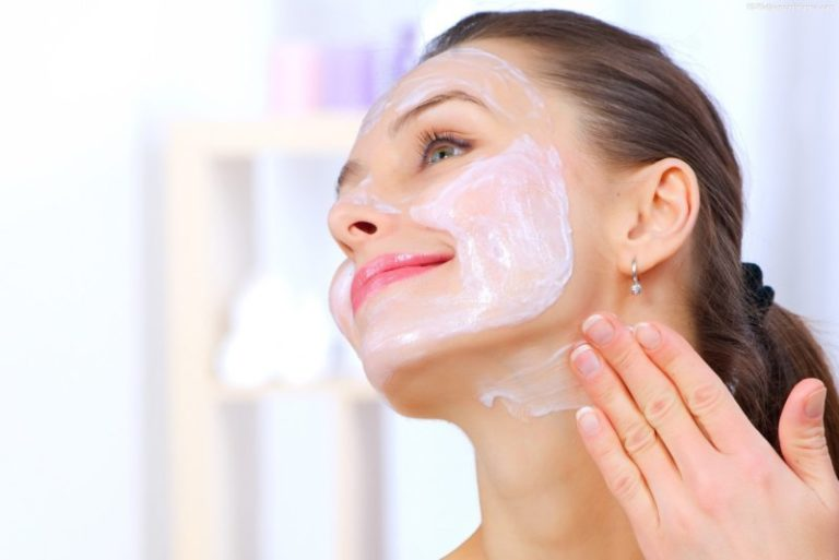 Маска для лица подтягивающая для сухой кожи