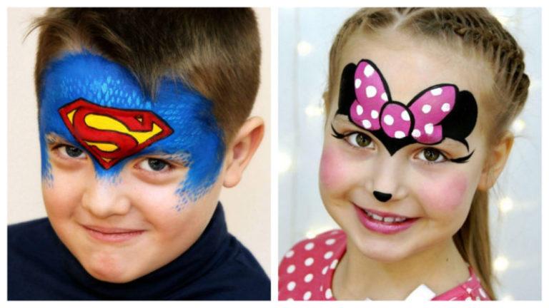 Легкий макияж для ребенка