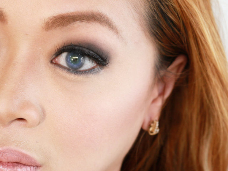 Best makeup for blue green eyes