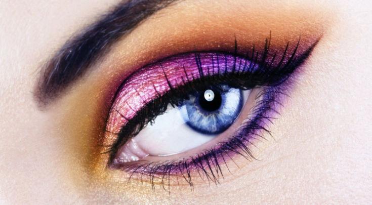 Лучшие макияжи для синих глаз