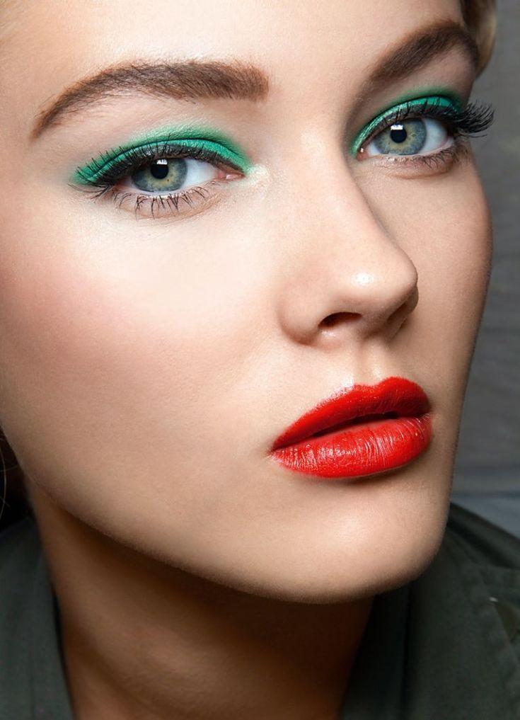 Фото макияж без теней