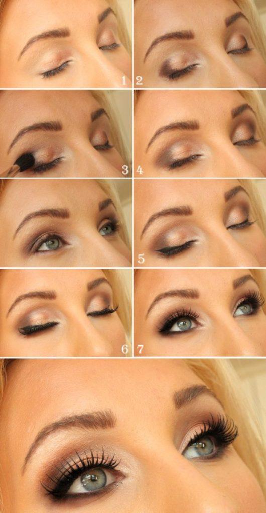Как красиво сделать дневной макияж