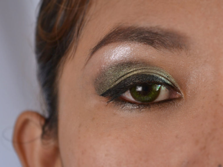 Wedding makeup looks for green eyes