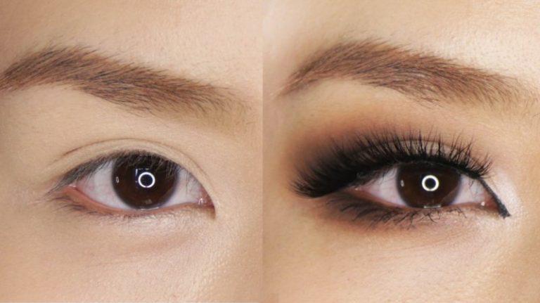 Eye makeup hooded eyes