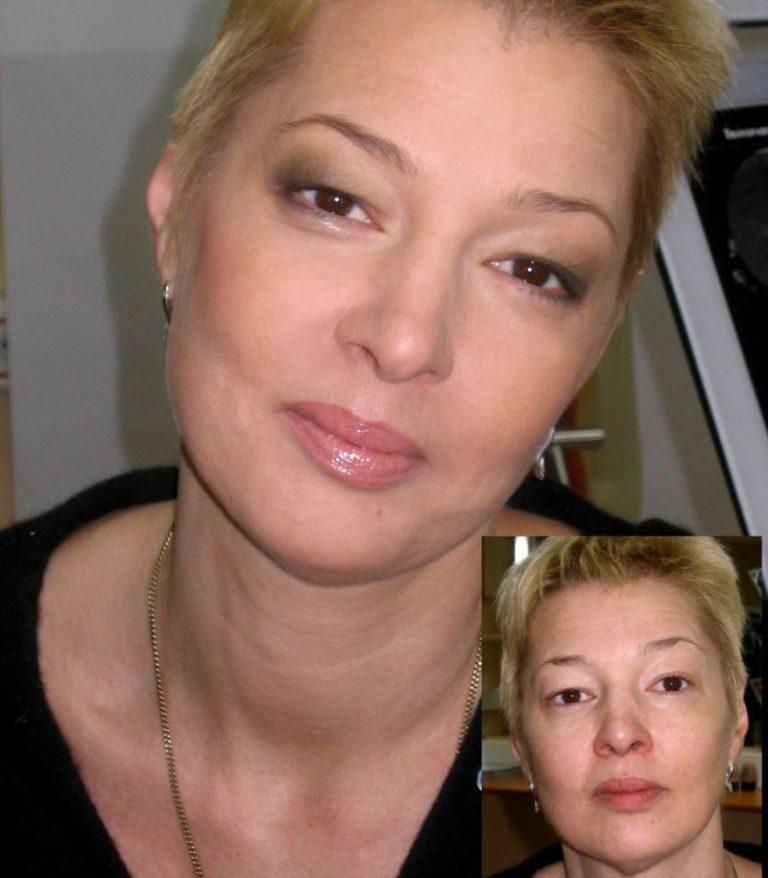 фото макияжа для зрелых дам