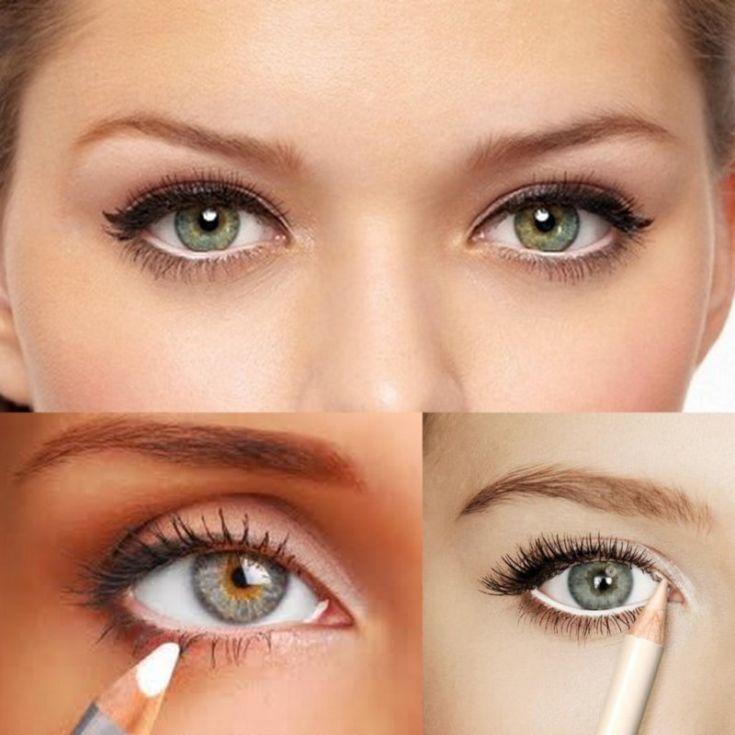 Как сделать так чтобы глаза казались большими 820