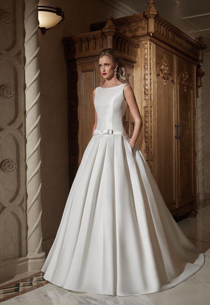 Модные свадебные платья 2018 года - 140 фото главного элемента b262497dc52