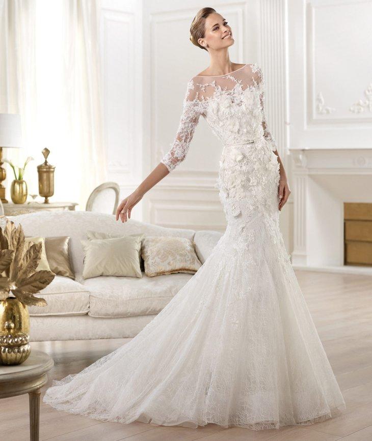 Свадебное платье - новинка 2017 года.