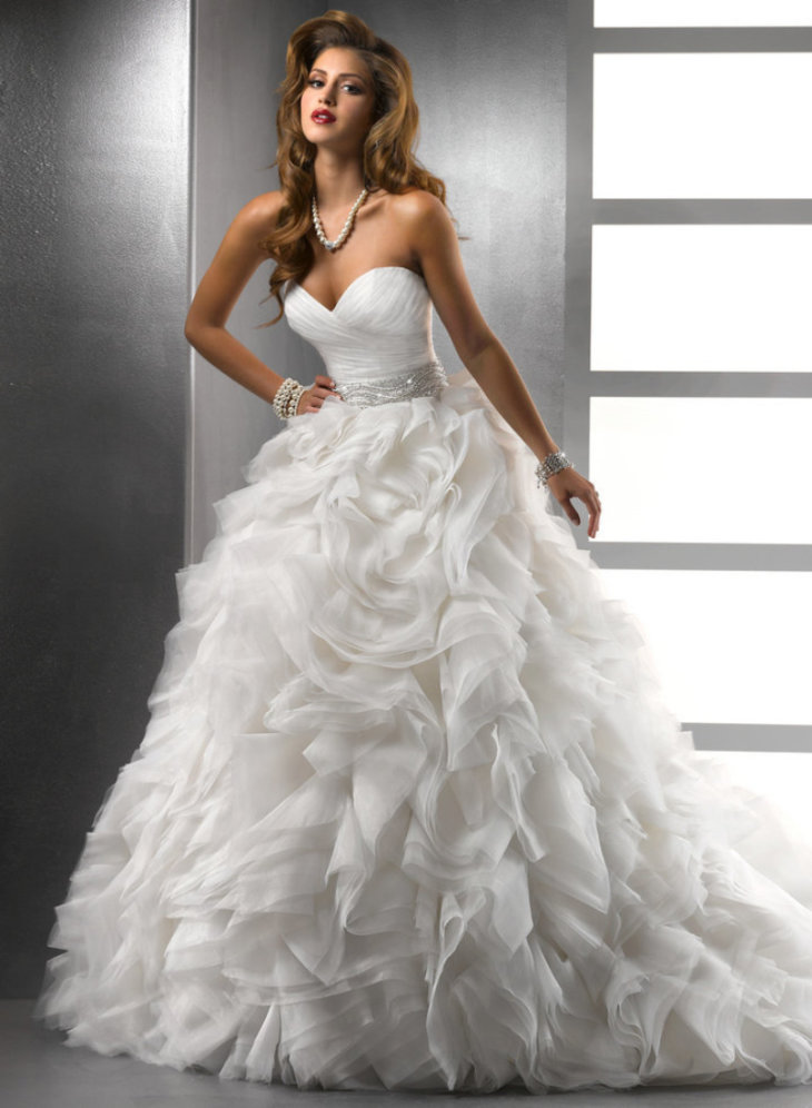 самое красивое платье невесты фото или