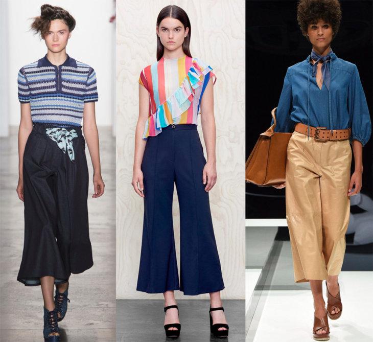 Модные штаны 2017 года