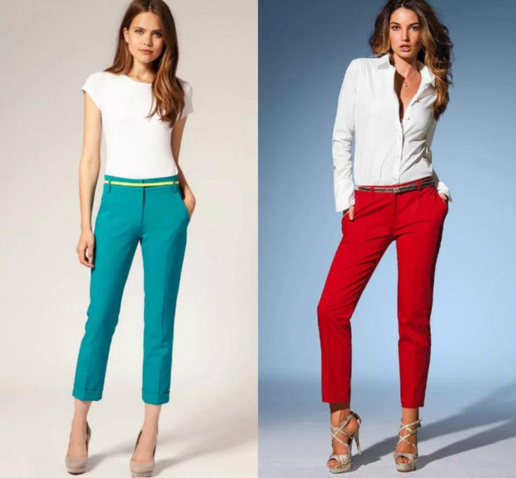 Женские штаны 2017 года модные тенденции