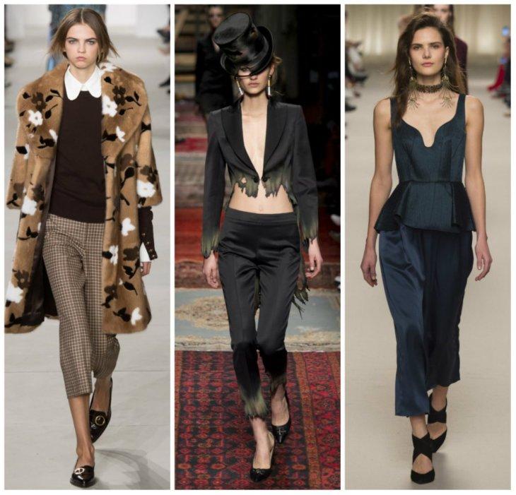 3dbae0f4702b Модные женские брюки 2017 года - 134 фото тенденций в мире моды