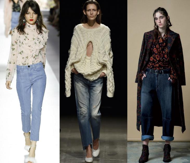 Фото модные джинсы 2017