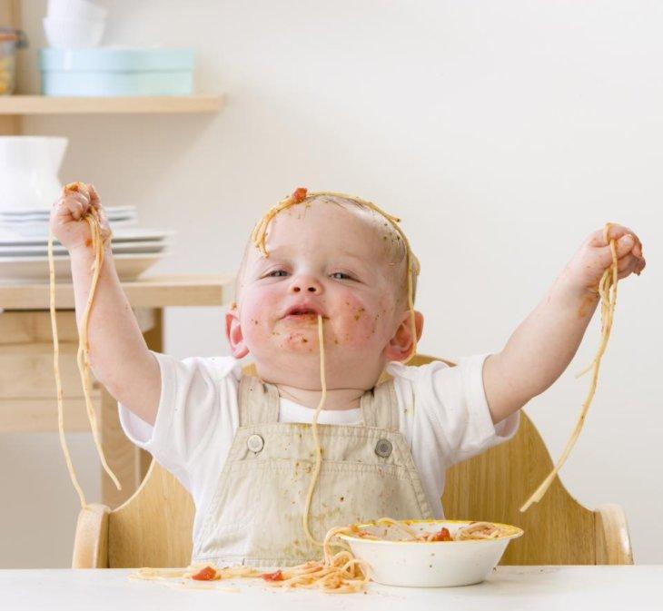 Прикольные картинки детское питание