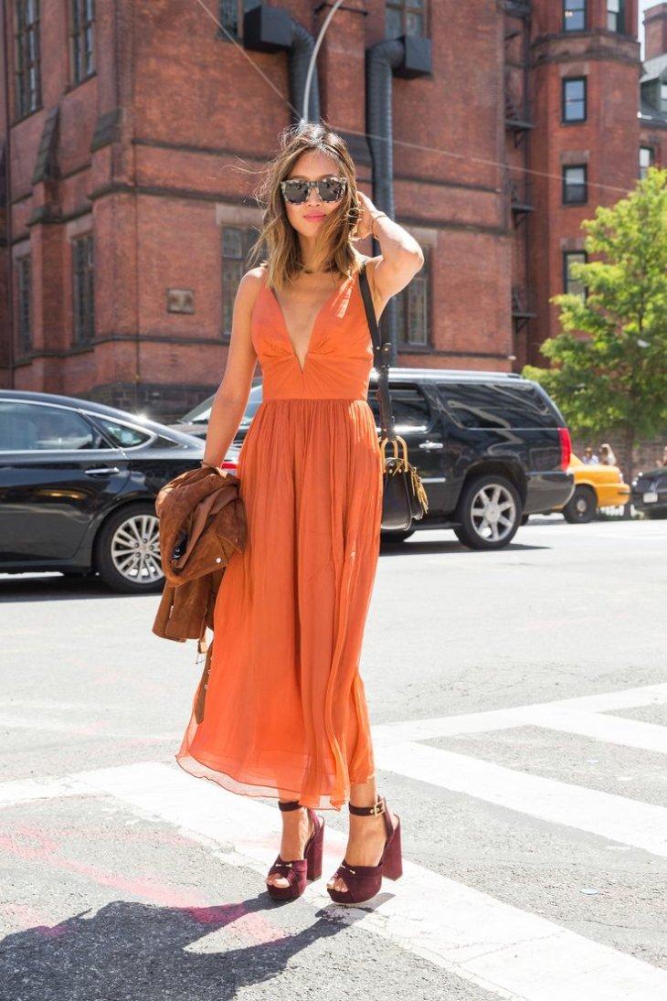 Модные платья лето 2017 повседневные