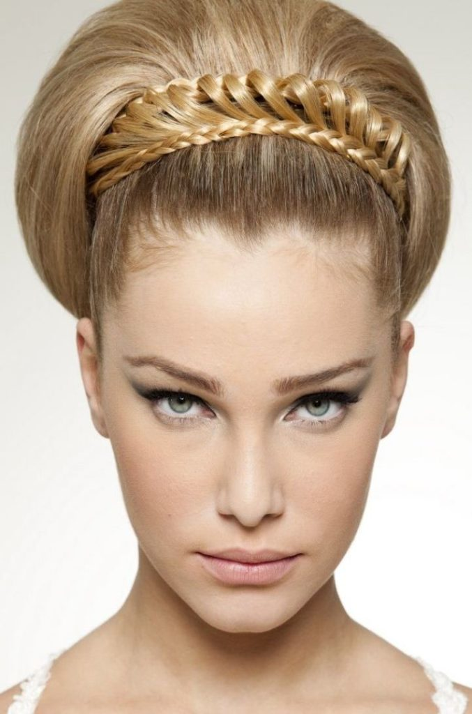 Модные прически из волос средней длины в картинках