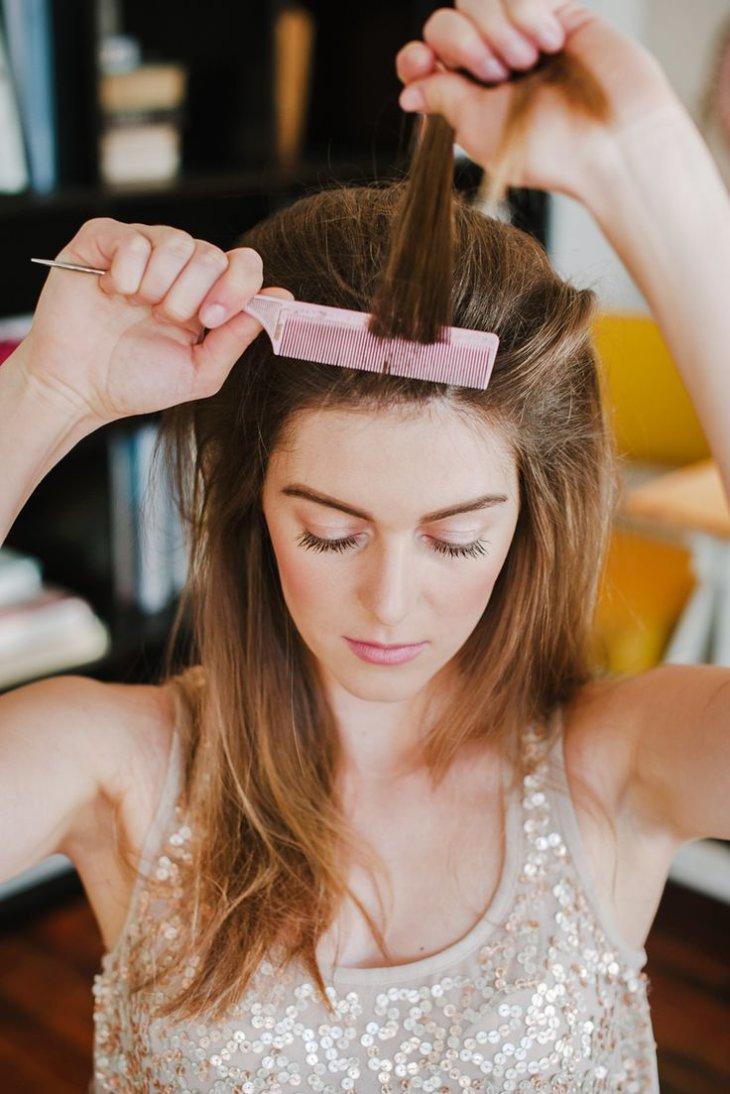 Как сделать прическу на средние волосы фото