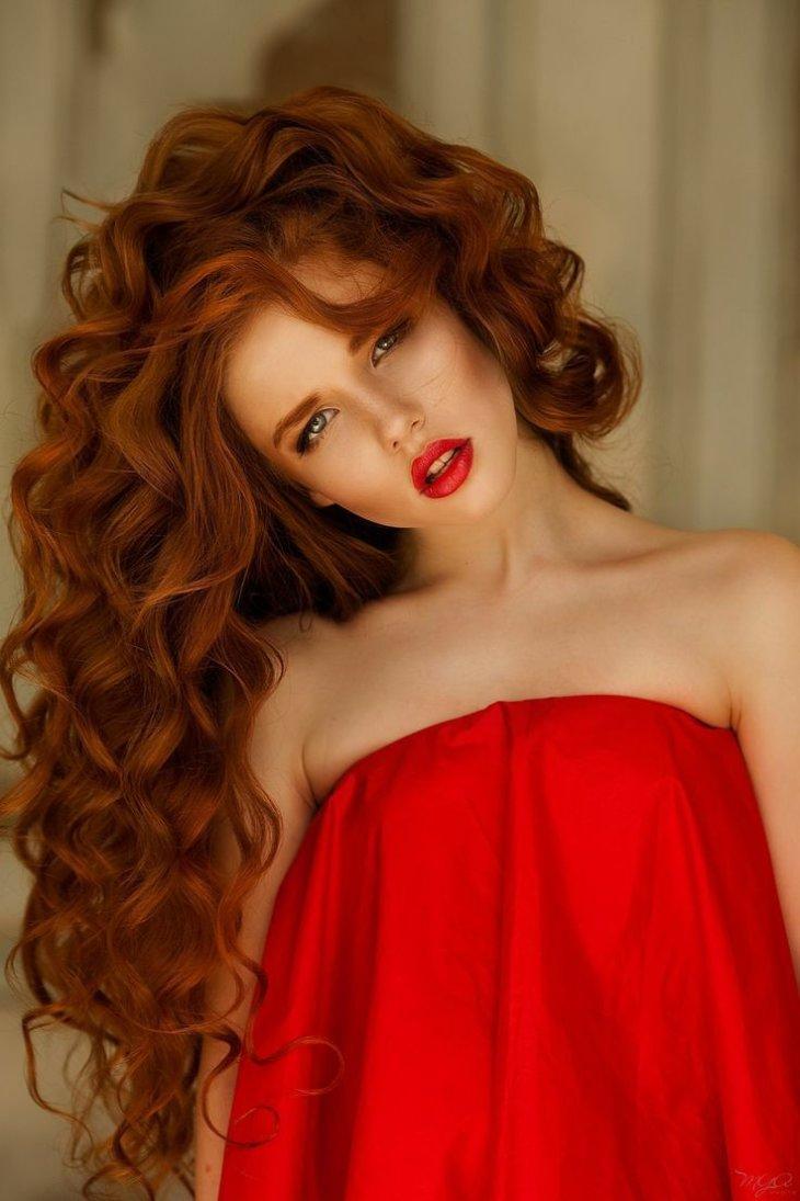 Сменить рыжий цвет волос