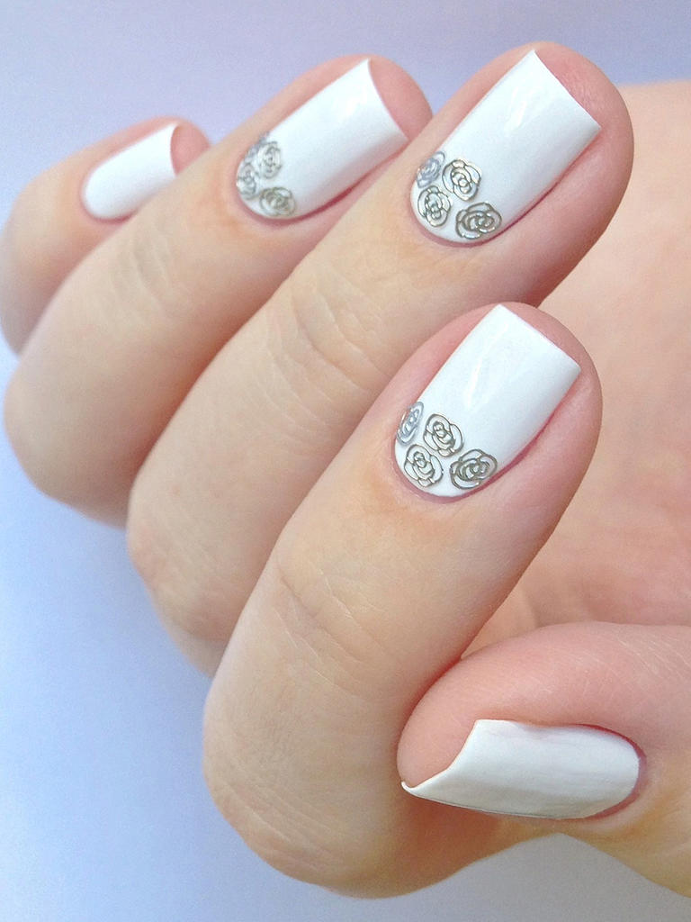 Свадебный маникюр - 25 фото красивого оформления ногтевой ...