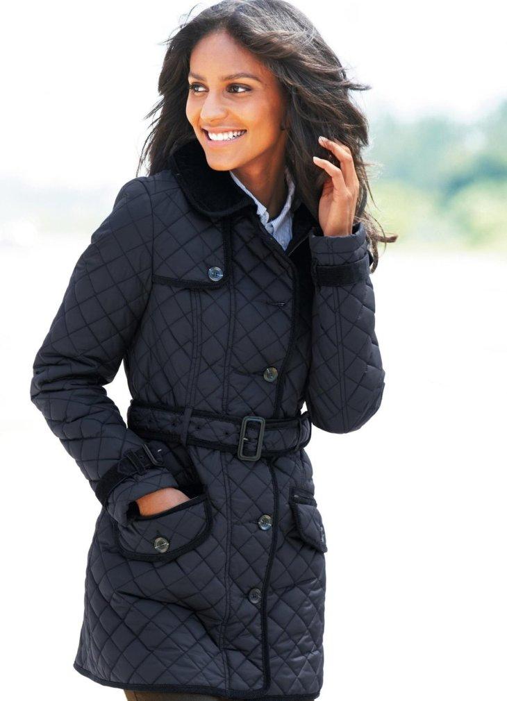 Куртки удлиненные женские демисезонные