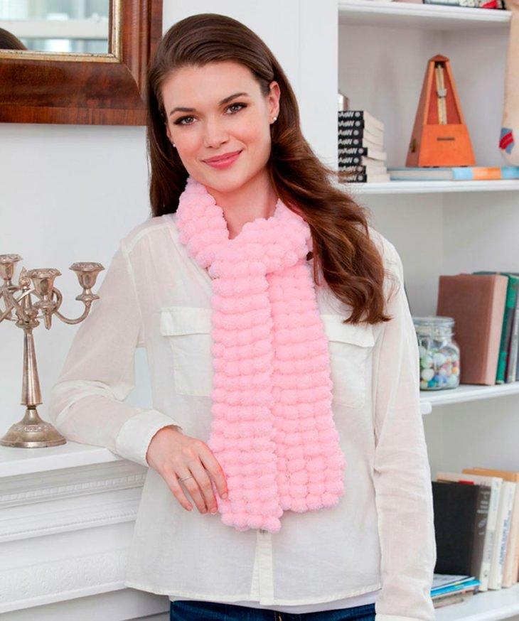 Вязание красивые женские шарфы 50