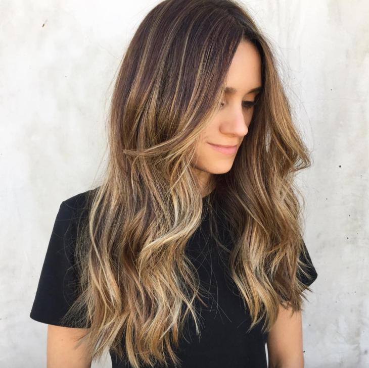 Окрашивание темно русых волос варианты