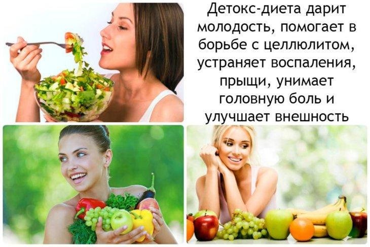 Очищающая диета от шлаков