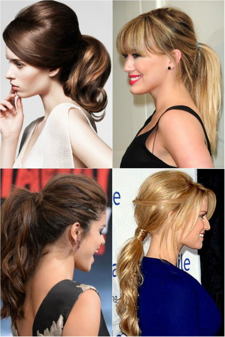 Прически с челкой на выпускной 2017-2018 на длинные волосы