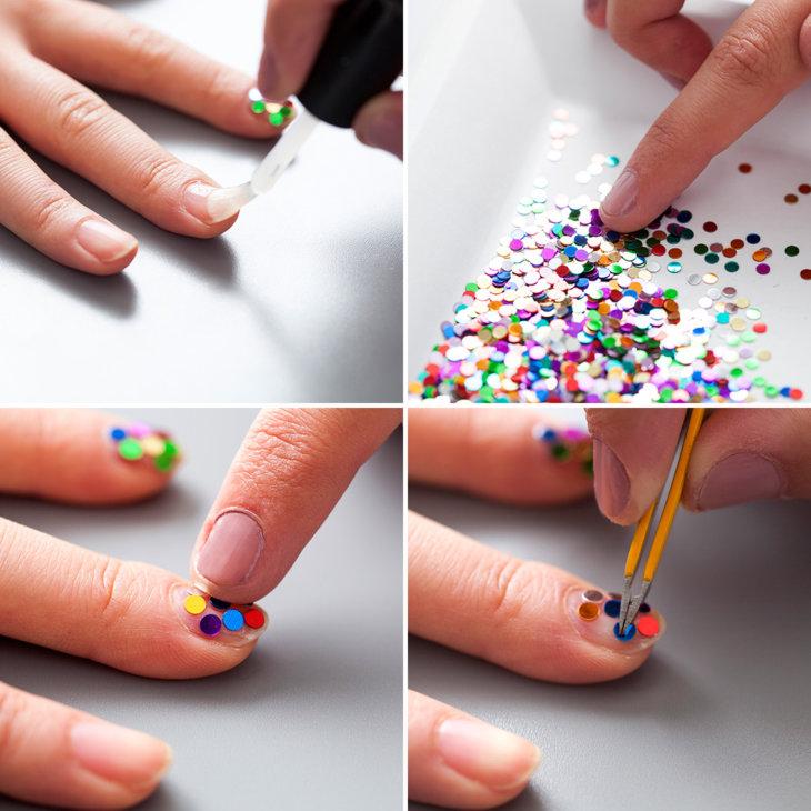 лучше картинки клеить на ногти полезные