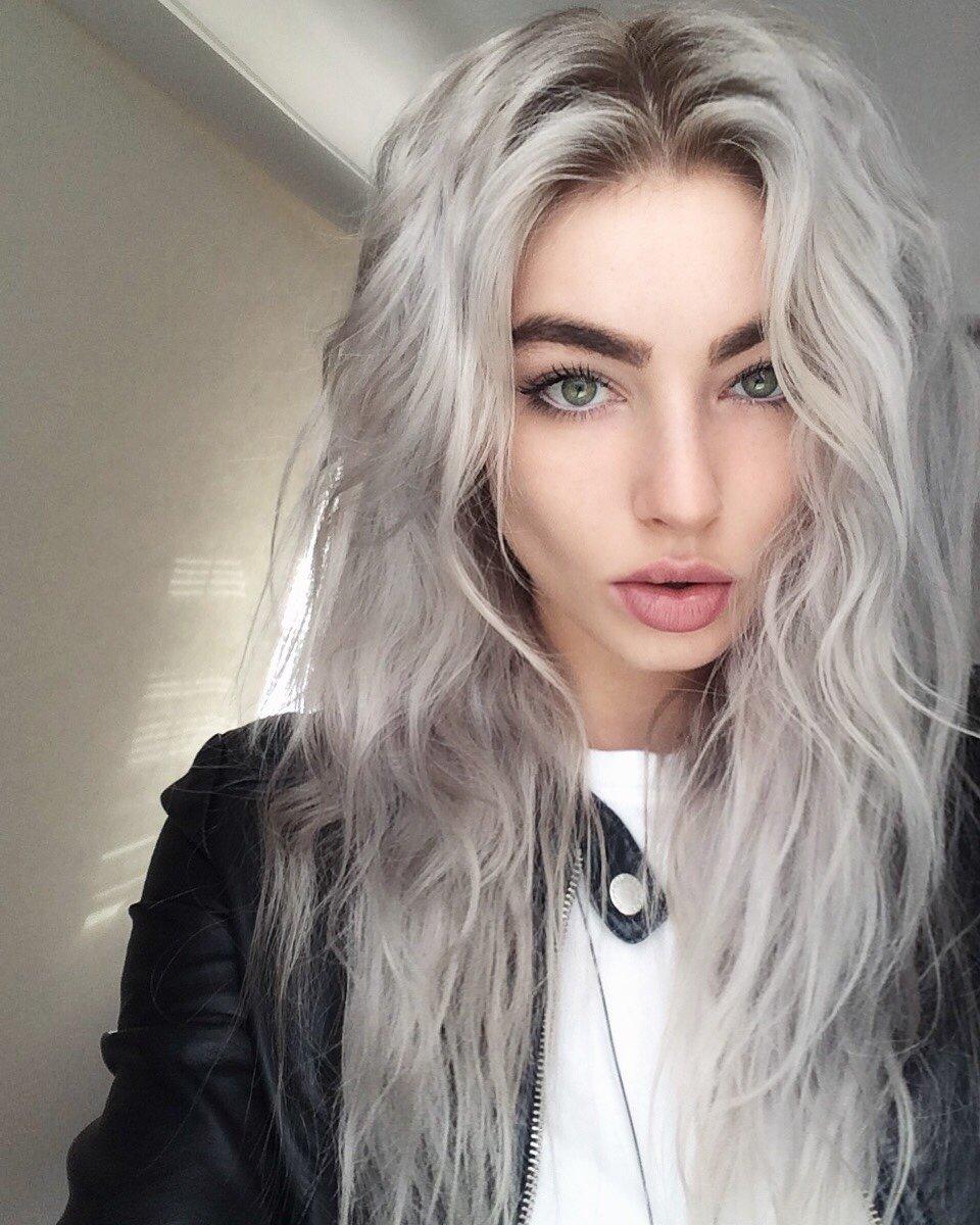 Темно-пепельный цвет волос фото