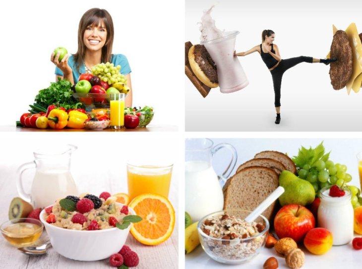 Правильное питание для похудения в домашних