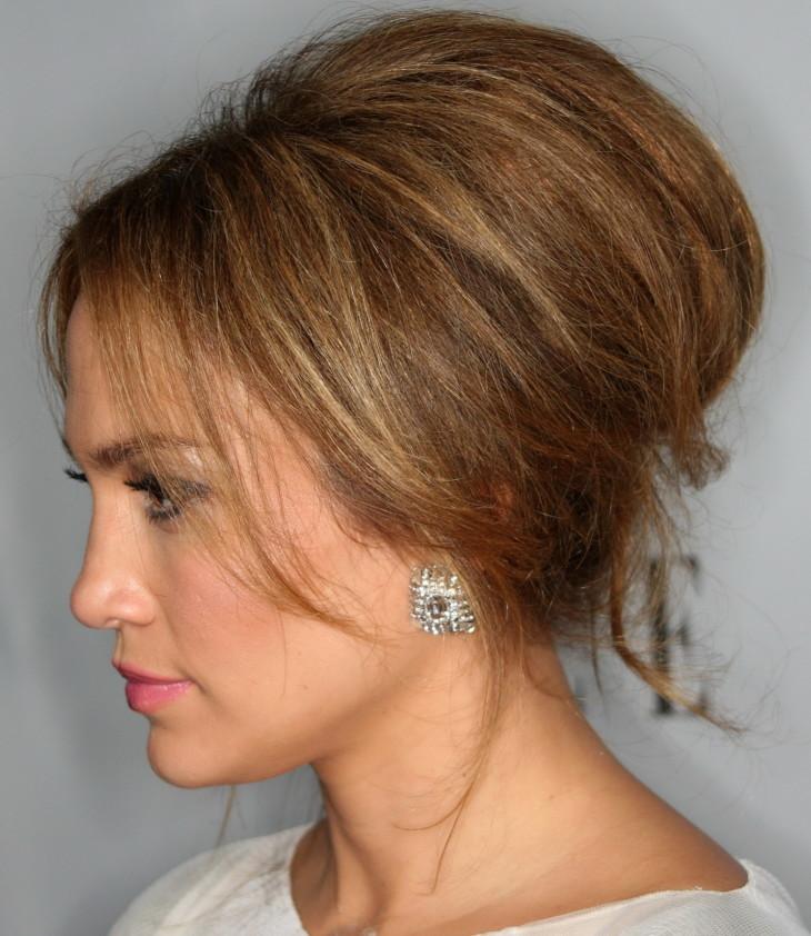 Фото причесок с начесом на короткие волосы