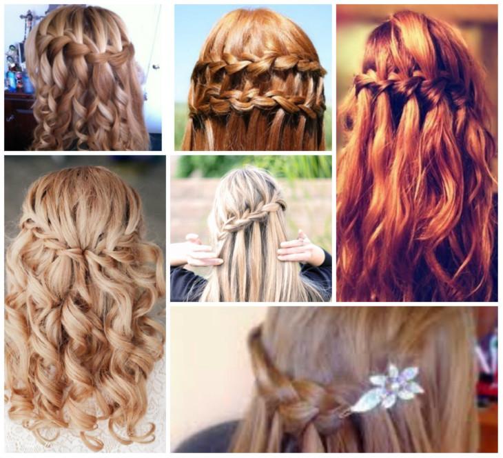 Прически для длинных волос на школу