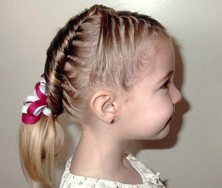 Прическа девочке 4 года